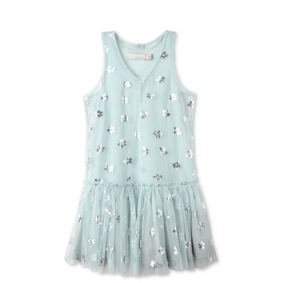 ブルー ベル ドレス