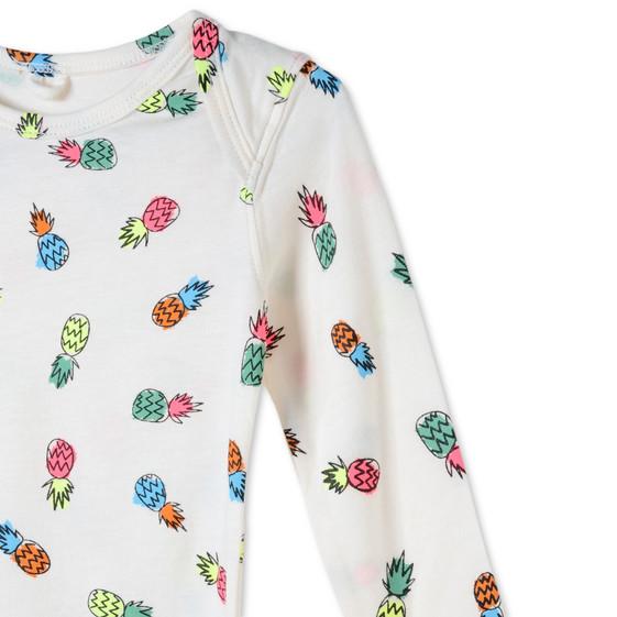 Pineapple Print Rufus Babygrow