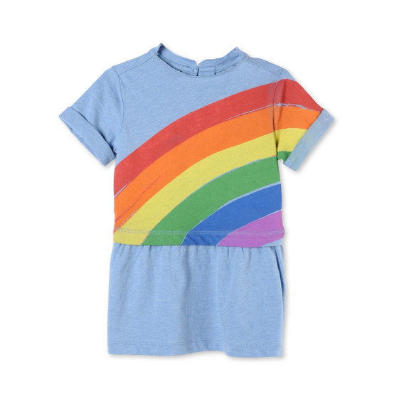 Rainbow Print Jess Dress