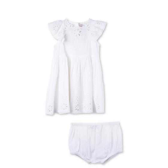 White Sundae Dress