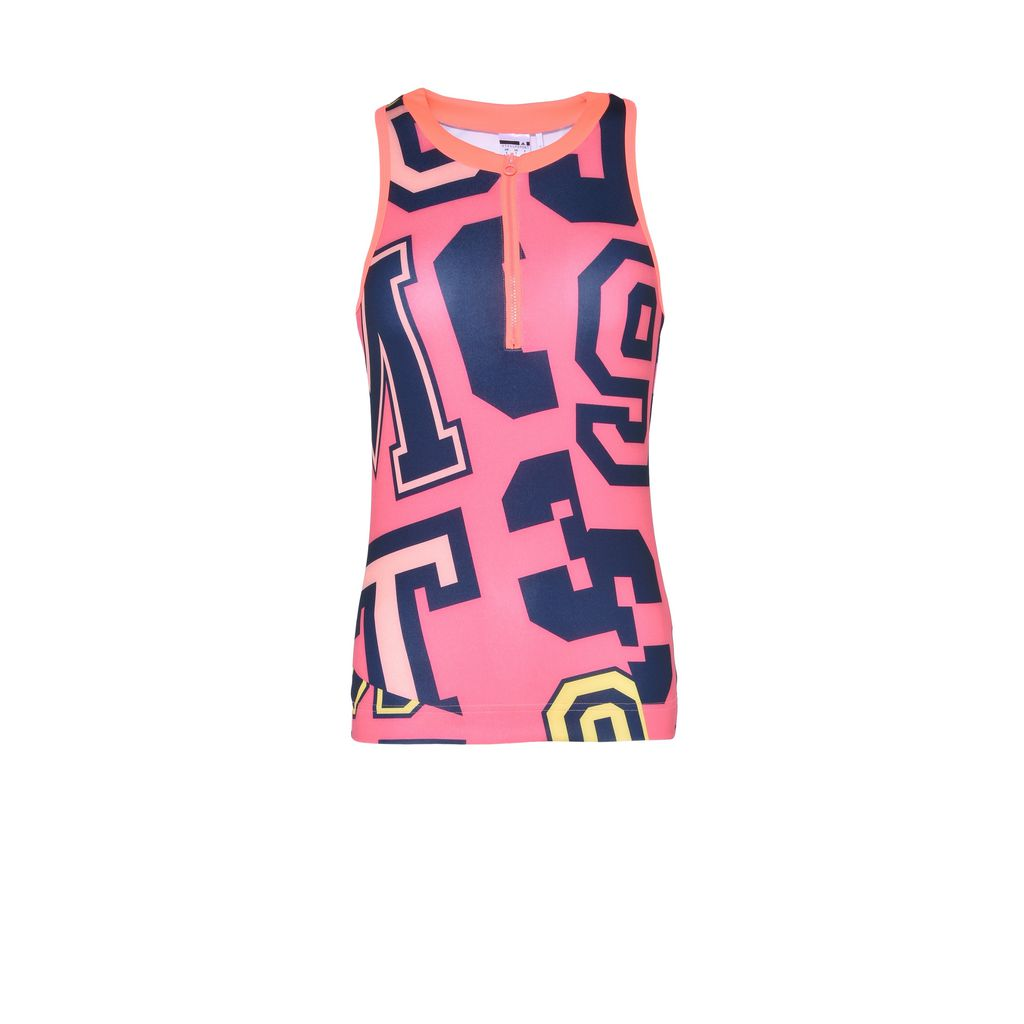 Pink words print top  - ADIDAS by STELLA McCARTNEY