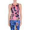 ADIDAS by STELLA McCARTNEY Pink words print top  StellaSport Bottoms D d