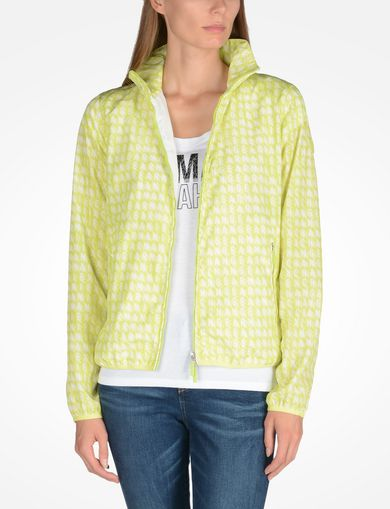 ARMANI EXCHANGE PACKABLE LOGO WINDBREAKER Woman front