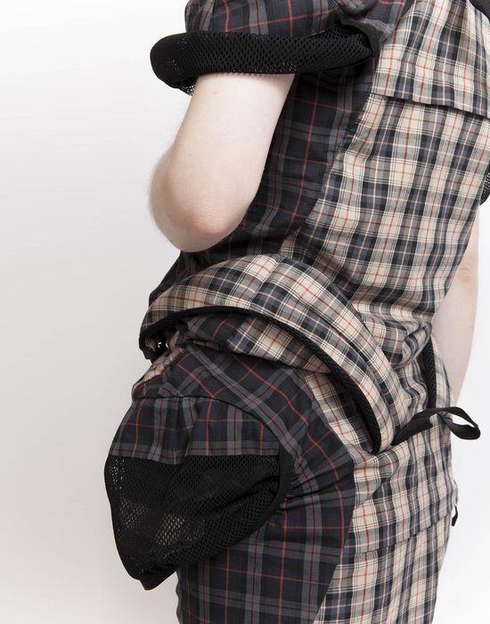 MAISON MARGIELA Look 19: Backpack Dress Short dress Woman a