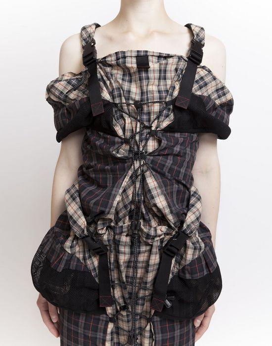 MAISON MARGIELA Look 19: Backpack Dress Short dress Woman d