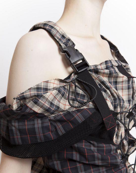 MAISON MARGIELA Look 19: Backpack Dress Short dress Woman e