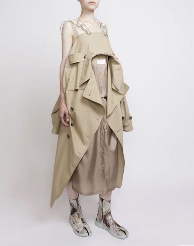 MAISON MARGIELA Long dress D Look 3: Trench Dress f