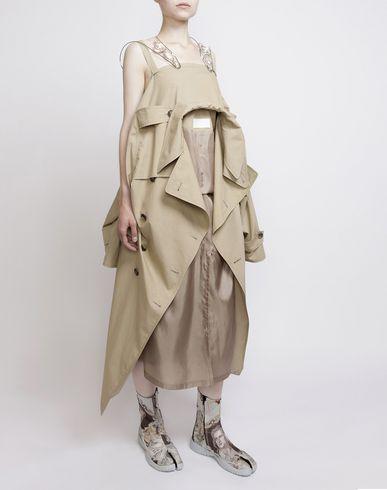 MAISON MARGIELA ロングワンピース・ドレス D Look 3: トレンチ ドレス f