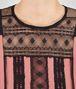 BOTTEGA VENETA DRESS IN DUSTY ROSE NERO POLYESTER, LACE DETAIL Dress D ap