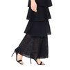 STELLA McCARTNEY Navy Lace Knit Dress Maxi D a