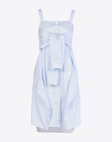 MAISON MARGIELA 1 Short dress D Deconstructed shirt dress f