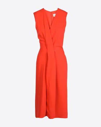 MAISON MARGIELA Fluid dress 3/4 length dress D f