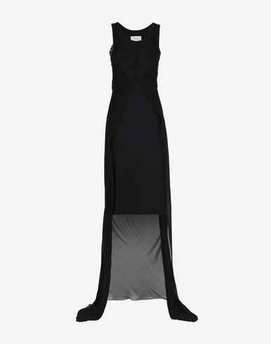 MAISON MARGIELA 1 7分丈ワンピース・ドレス D ランジェリー スタイル シルク ドレス f