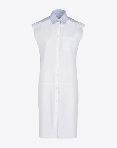 MAISON MARGIELA 1 3/4 length dress D Shirt dress f