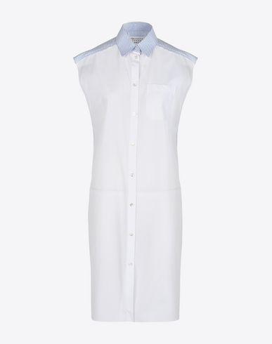 MAISON MARGIELA 1 7分丈ワンピース・ドレス D シャツ ドレス f