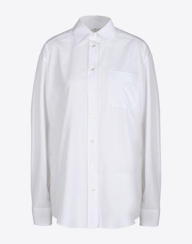 MAISON MARGIELA 1 Long sleeve shirt D Poplin shirt f