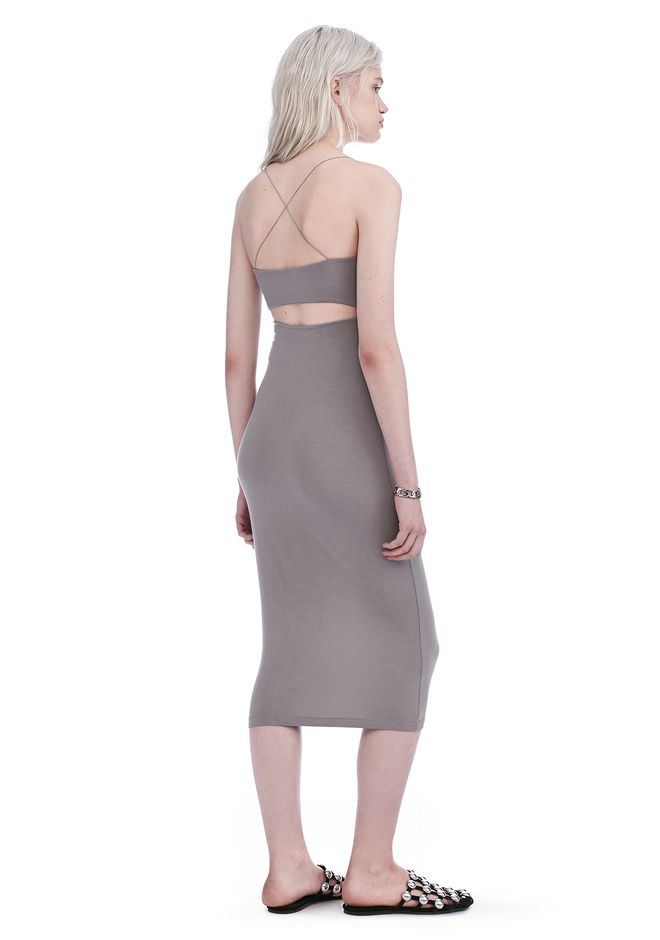 T by ALEXANDER WANG Short Dresses Women CUT OUT MODAL CAMI DRESS