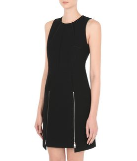 KARL LAGERFELD GRAPHIC ZIP DRESS
