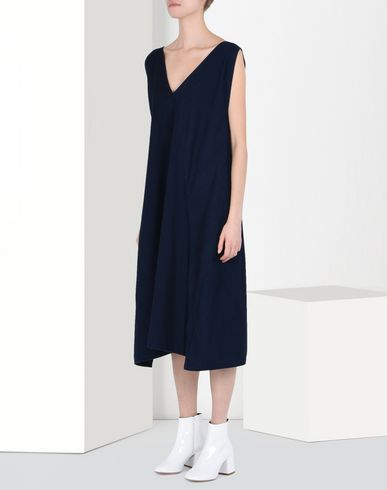 MM6 by MAISON MARGIELA Japanese cotton dress 3/4 length dress D f