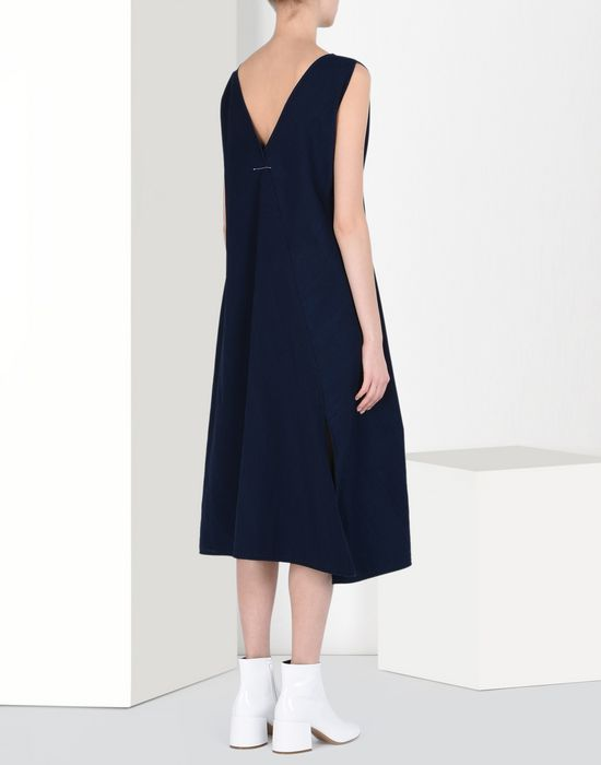 MM6 MAISON MARGIELA Japanese cotton dress 3/4 length dress Woman d
