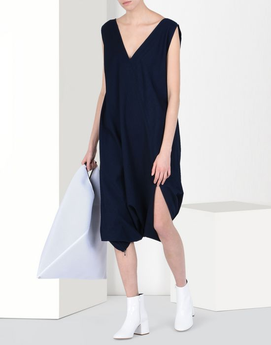MM6 MAISON MARGIELA Japanese cotton dress 3/4 length dress Woman r