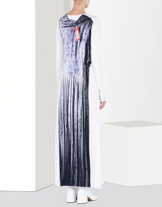 MM6 by MAISON MARGIELA Trompe l'oeil dress Long dress D d