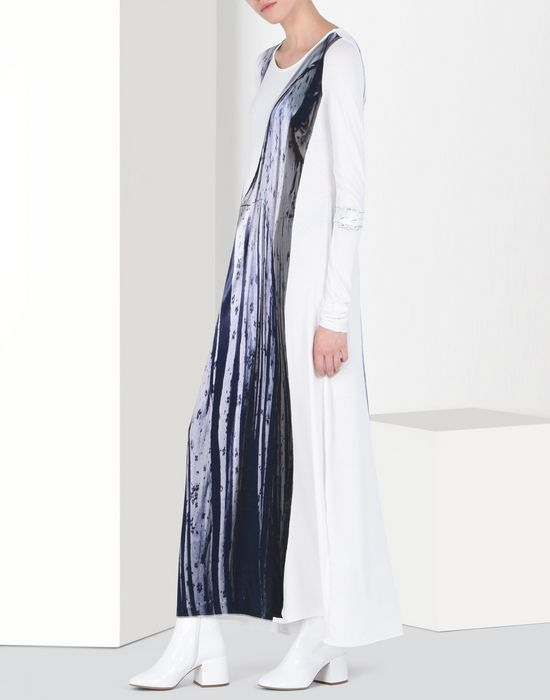 MM6 by MAISON MARGIELA Trompe l'oeil dress Long dress D r