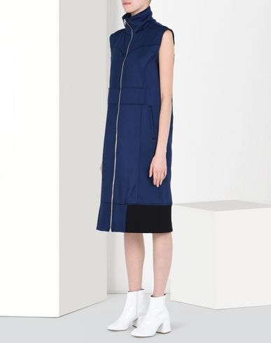 MM6 by MAISON MARGIELA 3/4 length dress D Shiny sweat dress f