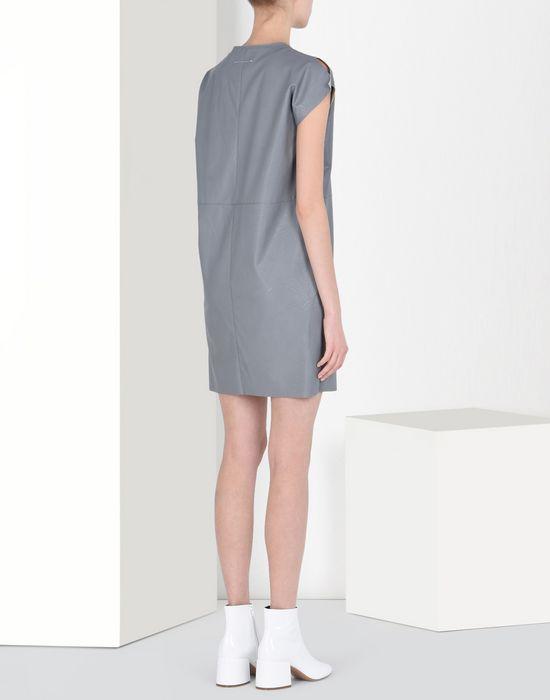 MM6 MAISON MARGIELA Fake leather dress Short dress Woman d