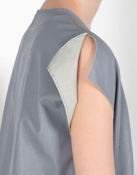 MM6 MAISON MARGIELA Fake leather dress Short dress Woman e