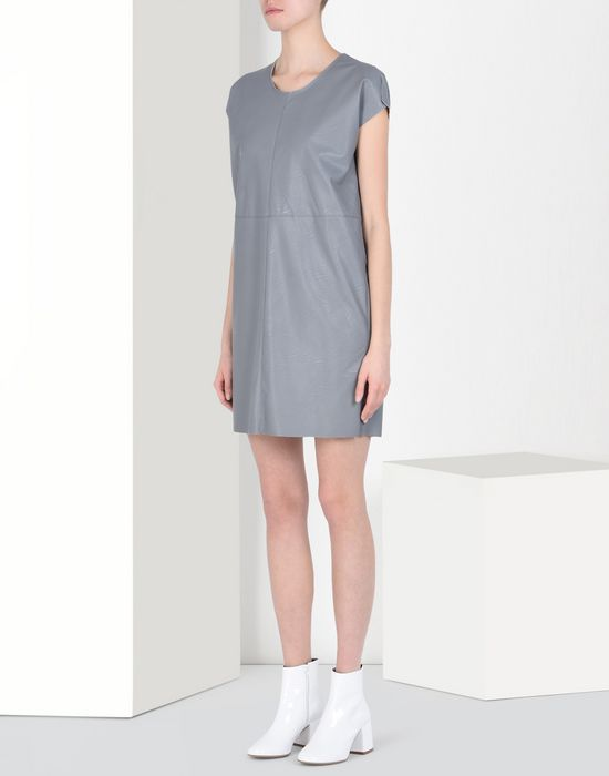 MM6 by MAISON MARGIELA Fake leather dress Short dress D f