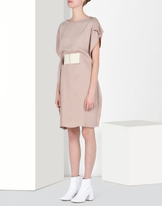 MM6 MAISON MARGIELA Fluid dressy dress Short dress Woman f
