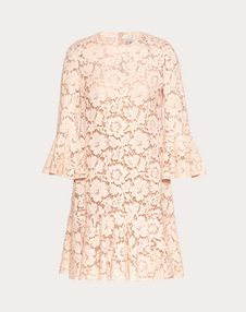 VALENTINO Dress D Heavy Lace Dress f