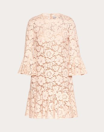 VALENTINO Dress D Heavy lace dress f