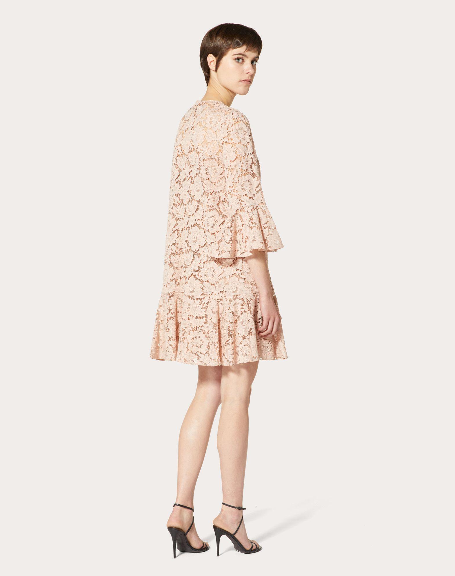 VALENTINO Heavy Lace Dress Dress D e