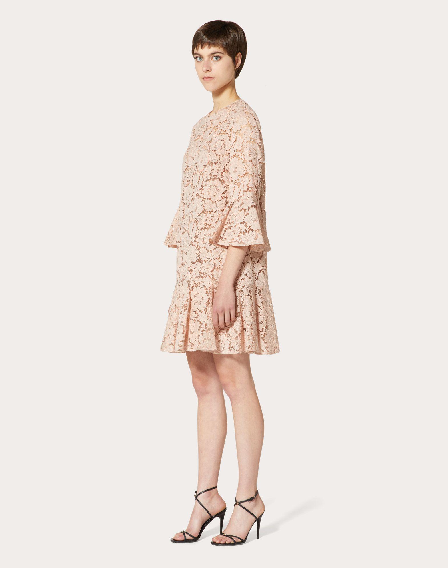 VALENTINO Heavy Lace Dress Dress D r