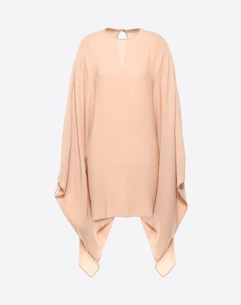 VALENTINO Georgette Cloak Dress 34696113ID