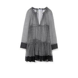 STELLA McCARTNEY Maxi D Silk Lurex Dress f