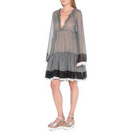 Silk Lurex Dress