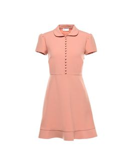 REDValentino Cady Tech Button-Down Dress