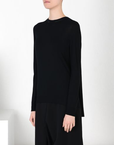 MM6 by MAISON MARGIELA Long sleeve jumper D Back pleats pull-over f