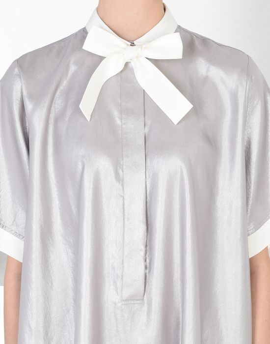 MM6 MAISON MARGIELA Silver scarf dress Short dress D a