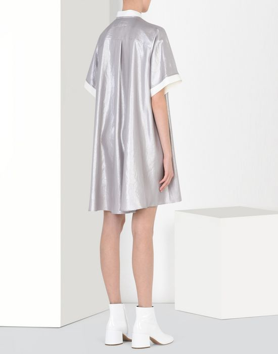MM6 MAISON MARGIELA Silver scarf dress Short dress D d