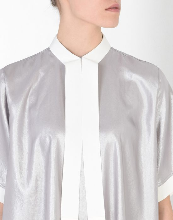 MM6 MAISON MARGIELA Silver scarf dress Short dress D e