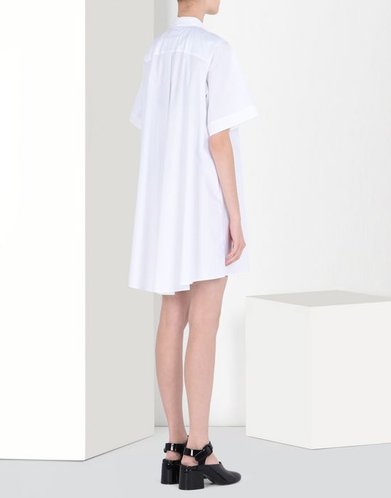 MM6 MAISON MARGIELA Poplin scarf dress Short dress Woman d