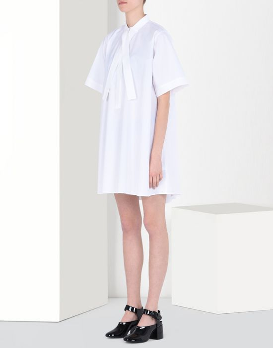 MM6 MAISON MARGIELA Poplin scarf dress Short dress Woman f