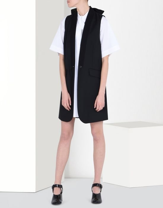 MM6 MAISON MARGIELA Poplin scarf dress Short dress Woman r