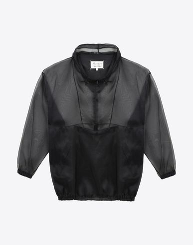 MAISON MARGIELA 1 Silk sports jacket Jacket D f