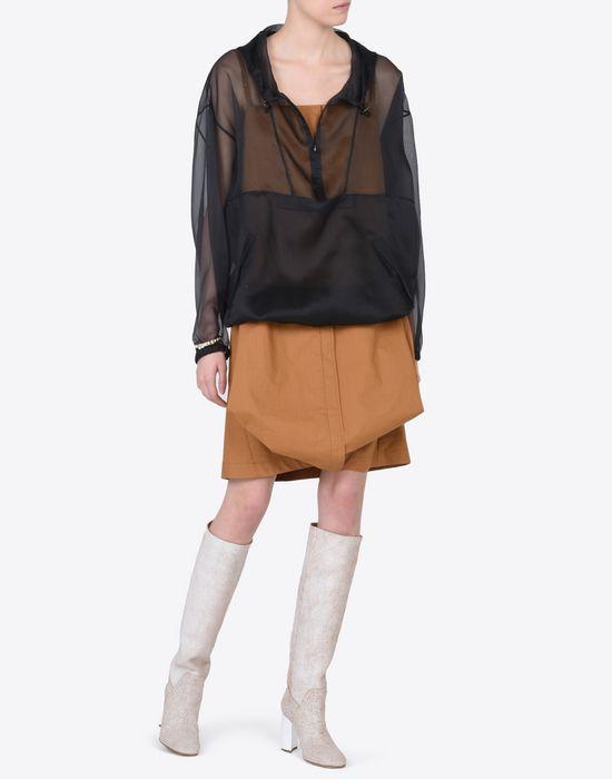MAISON MARGIELA 1 Silk sports jacket Jacket Woman d