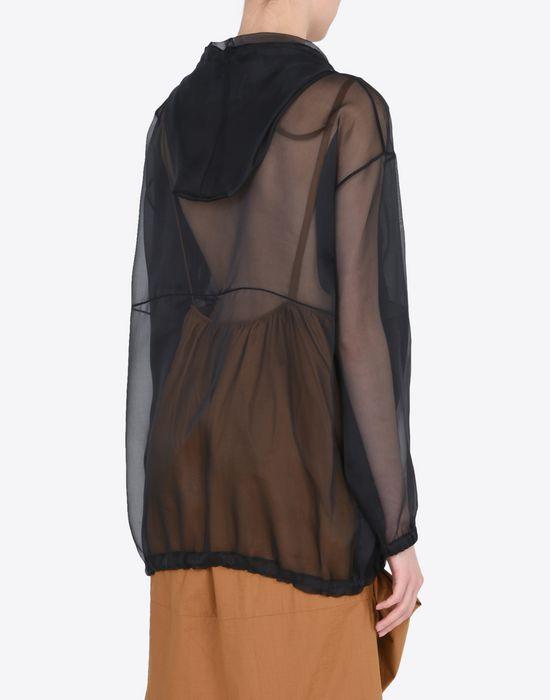 MAISON MARGIELA 1 Silk sports jacket Jacket Woman e